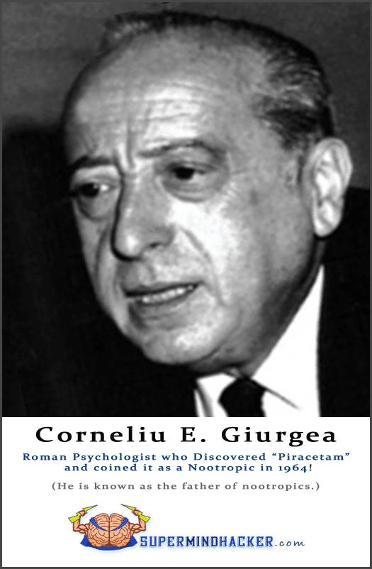 """""""Corneliu E. Giurgea"""" Founder of nootropics"""