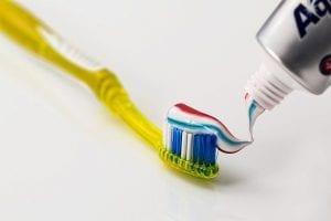 flouride - toothpaste