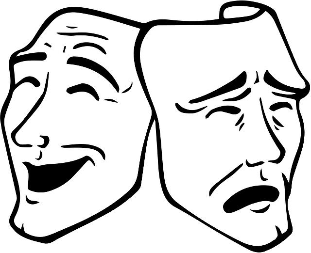 sad - theatrical mask
