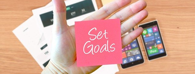 set goals - motivation