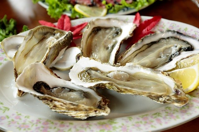 Zinc- mineral found in oysters