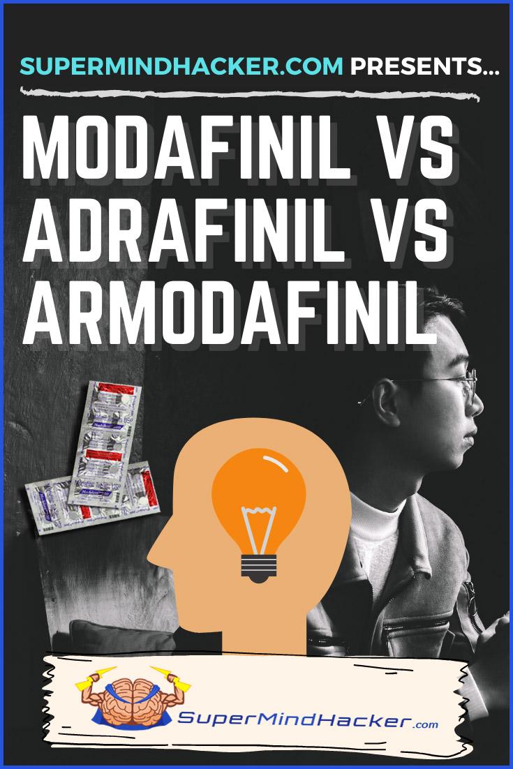 Modafinil VS Adrafinil VS Armodafinil