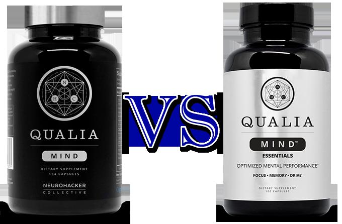 qualia mind vs qualia mind essentials - qualia focus