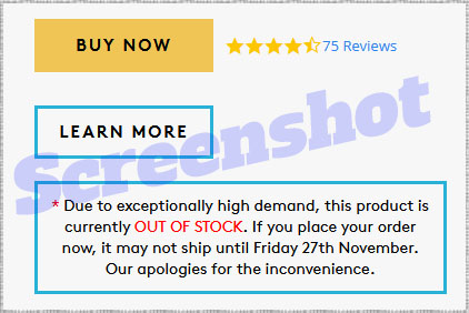 Mind by Performance Lab - out of stock screenshot