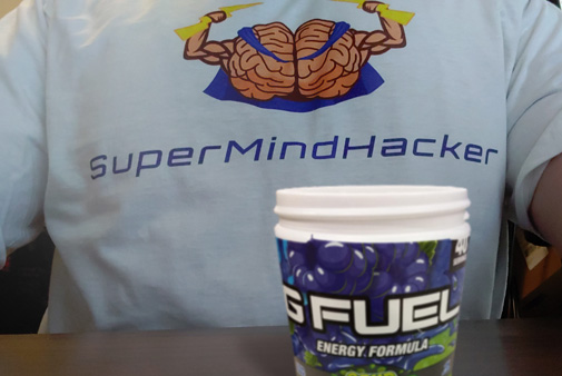 g-fuel gaming supplement