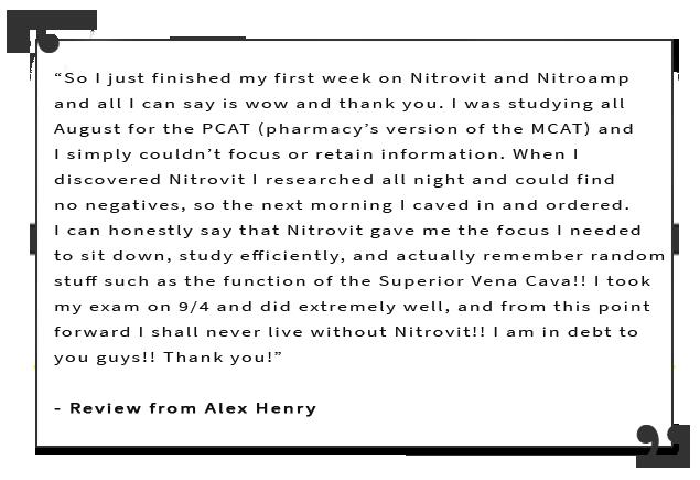 NitroAmp testimonial