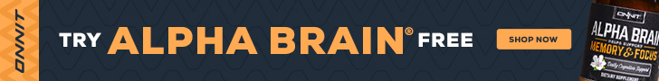 Try Alpha Brain FREE - Just Pay Shipping!