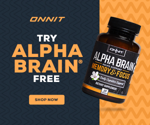 Try Alpha Brain for FREE!   (Only Pay Shipping)