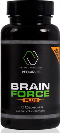 Brain Force Plus review - Infowars bottle