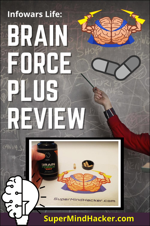 Infowars Life Brain Force Plus Review Image