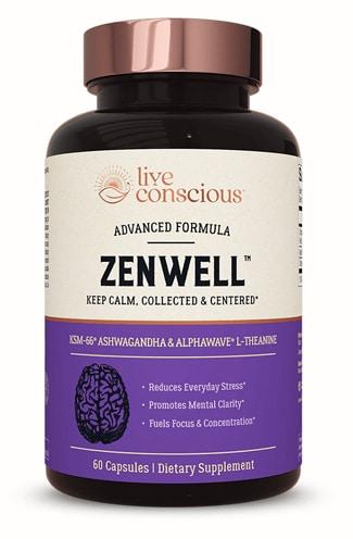 ZenWell Organic Ashwagandha Supplement