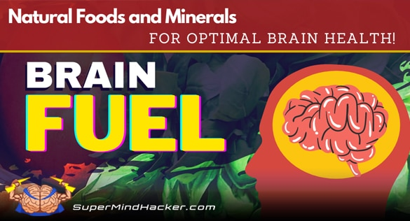 what is brain fuel? natural foods and minerals