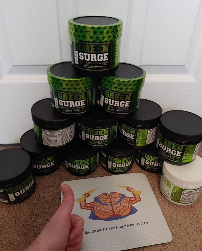 Green Surge by Jacked Factory Best Greens Powder