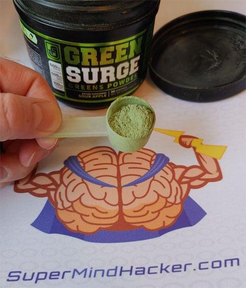 green surge powder review